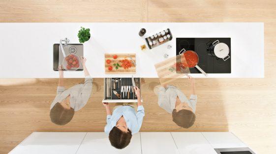 Blum - Kitchen workflow