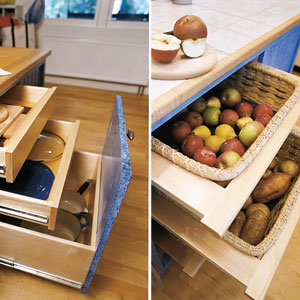 clever kitchen storage ideas - Kitchen Storage Idea