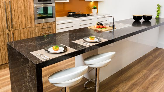 Kitchen Connection - black benchtop