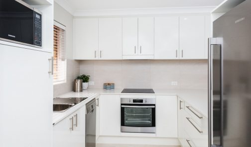 Kitchen Connection renovation - Lutwyche kitchen