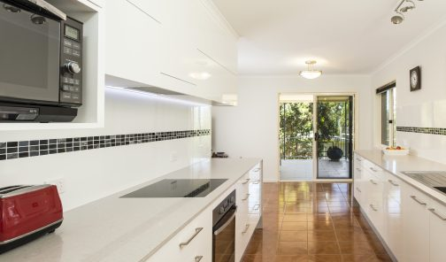 Kitchen Connection kitchen reno - Woombye