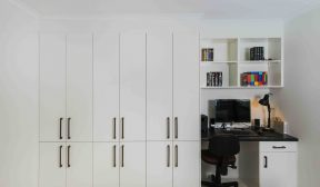 Keperra - Real Kitchens - office nook