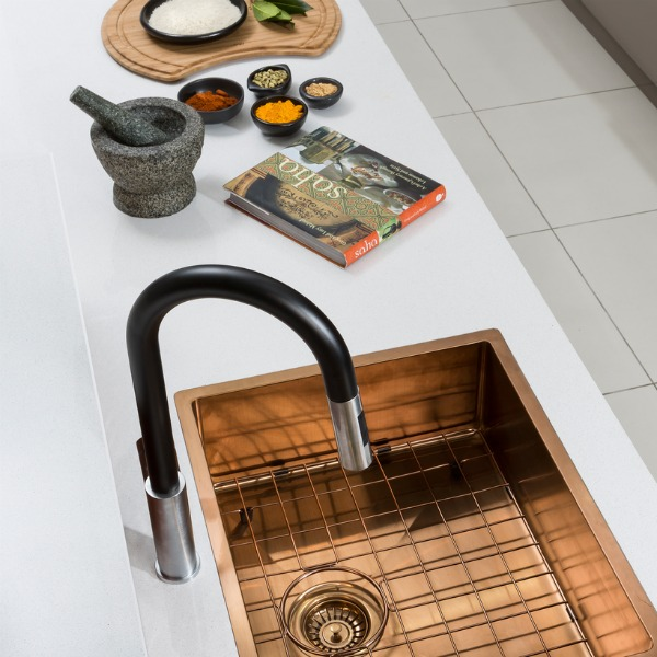 sinks such as their santorini sink as well as luxe looks such as this copper sink a great way to add style and dimension to your kitchen design. Interior Design Ideas. Home Design Ideas