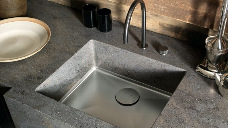 Trend alert solid surface kitchen connection for Corian competitors